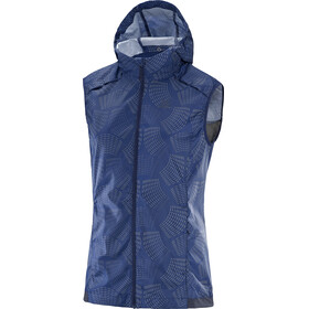 Salomon Agile Wind Vest Women Medieval Blue